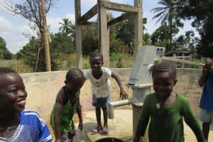 The Water Project: Yongoroo Community, New Life Clinic -  Kids Playing