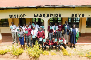 The Water Project: Bishop Makarios Secondary School -  Training Participants