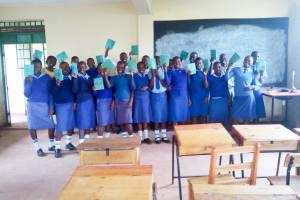 The Water Project: Eshisenye Girls Secondary School -  Training Participants