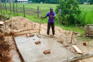 The Water Project: Bushili Primary School -  Latrine Construction
