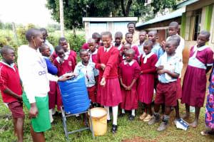 The Water Project: Namalasire Primary School -  Handwashing Training