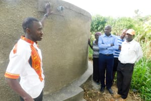 The Water Project: Rabuor Primary School -  Management Training