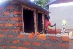 The Water Project: Namalasire Primary School -  Latrine Construction