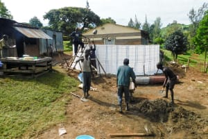 The Water Project: Bishop Makarios Secondary School -  Tank Construction
