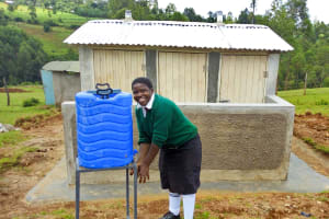 The Water Project: Shitoli Secondary School -  Handwashing Stations And Latrines