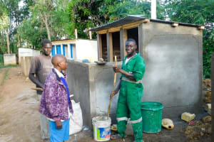 The Water Project: Rabuor Primary School -  Latrine Construction
