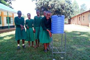 The Water Project: Bushili Primary School -  Handwashing Station