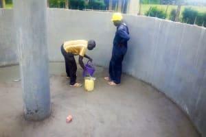 The Water Project: St. Stephen Maraba Secondary School -  Tank Construction