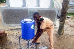 The Water Project: St. Stephen Maraba Secondary School -  Handwashing Station And Latrines