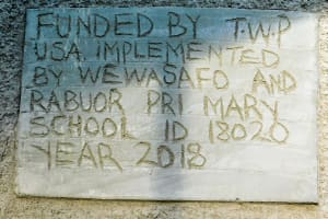 The Water Project: Rabuor Primary School -  Plaque