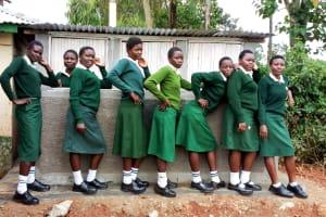 The Water Project: Injira Secondary School -  New Latrines
