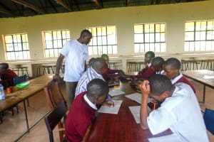 The Water Project: Bishop Makarios Secondary School -  Training
