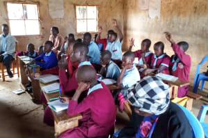 The Water Project: Namalasire Primary School -  Training