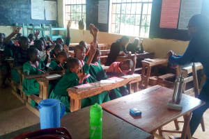 The Water Project: Bushili Primary School -  Training