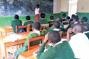 The Water Project: Injira Secondary School -  Training