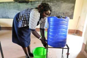 The Water Project: Bishop Makarios Secondary School -  Handwashing Training