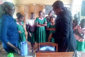 The Water Project: Bushili Primary School -  Handwashing Training