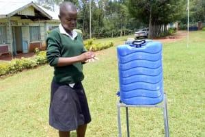 The Water Project: Shitoli Secondary School -  Handwashing Training