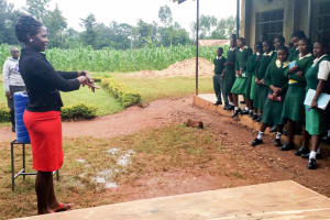 The Water Project: Injira Secondary School -  Handwashing Training