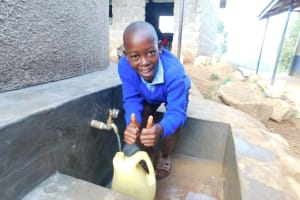 The Water Project: JM Rembe Primary School -  Clean Water