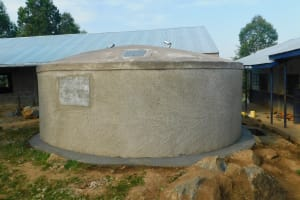 The Water Project: JM Rembe Primary School -  Completed Tank