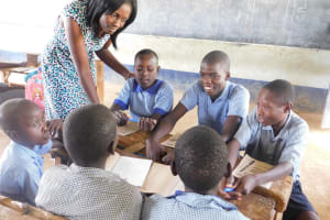 The Water Project: JM Rembe Primary School -  Group Work
