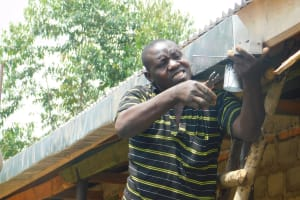 The Water Project: JM Rembe Primary School -  Installation Of Gutters At The School