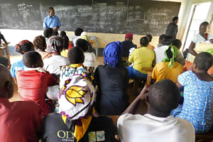 The Water Project: JM Rembe Primary School -  Training In Progress