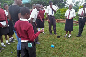 The Water Project: Essong'olo Secondary School -  Interactive Activity During The Training