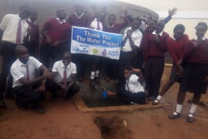 The Water Project: Essong'olo Secondary School -  Thank You