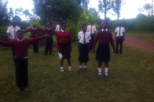 The Water Project: Essong'olo Secondary School -  Training Activities