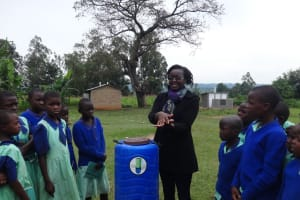 The Water Project: Musabale Primary School -  Learning About The Importance Of Handwashing