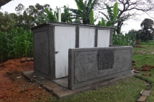 The Water Project: Musabale Primary School -  New Latrines