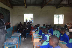 The Water Project: Musabale Primary School -  Students Listen During Traing