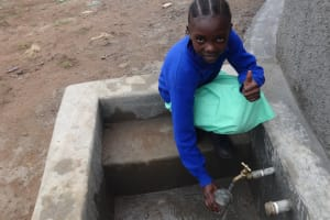 The Water Project: Musabale Primary School -  Thumbs Up To Clean Water