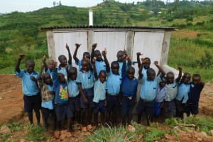 The Water Project: Kenneth Marende Primary School -  Boys Love Their New Latrine