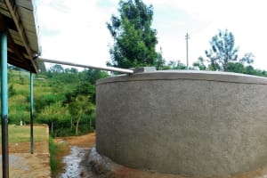 The Water Project: Kenneth Marende Primary School -  Completed Tank