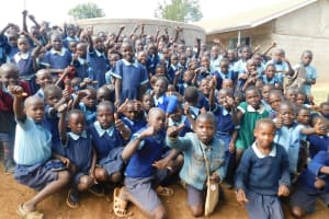 The Water Project: Kenneth Marende Primary School -  Happy Students