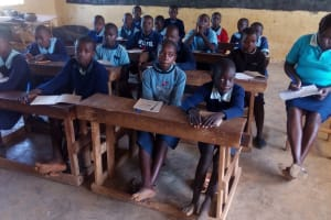 The Water Project: Kenneth Marende Primary School -  Listening During Training
