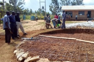 The Water Project: Kenneth Marende Primary School -  Mesh Bottom For Tank