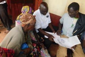 The Water Project: Shiru Community, Sammy Alumola Spring -  Group Discussions At Training