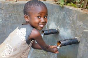 The Water Project: Jivovoli Community, Wamunala Spring -  Safe Water