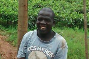 The Water Project: Jivovoli Community, Gideon Asonga Spring -  James Mbimwa