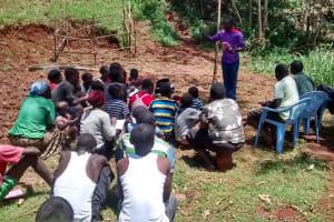 The Water Project: Jivovoli Community, Gideon Asonga Spring -  Listening During Training