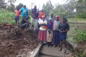 The Water Project: Ingavira Community, Laban Mwanzo Spring -  Training Attendees