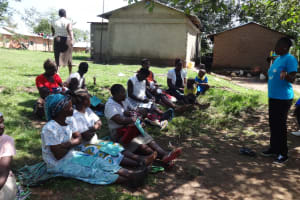 The Water Project: Masera Community, Ernest Mumbo Spring -  Community Members At Training