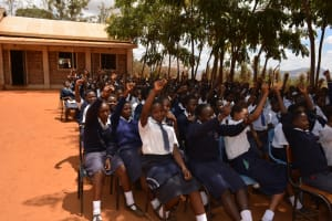 The Water Project: Mbuuni Secondary School -  Actively Participating