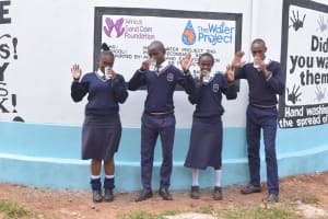 The Water Project: Mbuuni Secondary School -  Clean Water