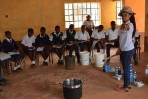 The Water Project: Mbuuni Secondary School -  Training