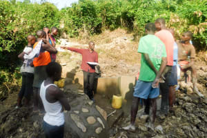 The Water Project: Ulagai Community, Aduda Spring -  Spring Management Training
